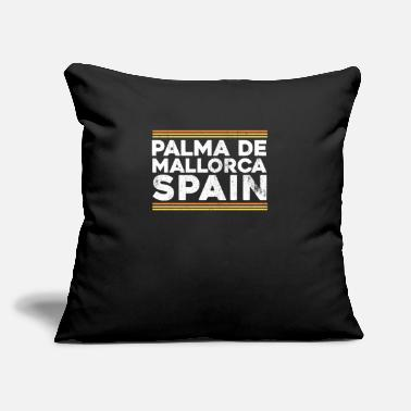 "Mallorca Mallorca - Throw Pillow Cover 18"" x 18"""