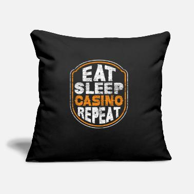 "Casino casino casino - Throw Pillow Cover 18"" x 18"""