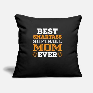 "Game Best smart mother - Throw Pillow Cover 18"" x 18"""
