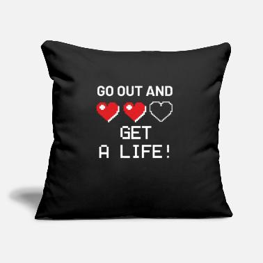 "Video Gaming - Throw Pillow Cover 18"" x 18"""