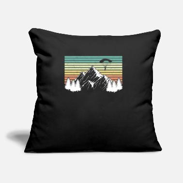 "Extreme Spor Paraglide Skydiving - Throw Pillow Cover 18"" x 18"""
