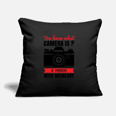 "Be You You know what camera is - Throw Pillow Cover 18"" x 18"""