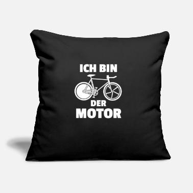 "Der ich bin der Motor - Throw Pillow Cover 18"" x 18"""
