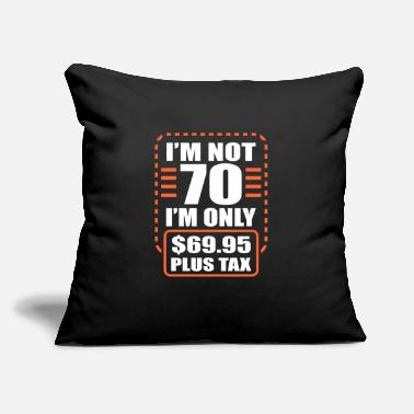 "70th 70th Birthday - Throw Pillow Cover 18"" x 18"""