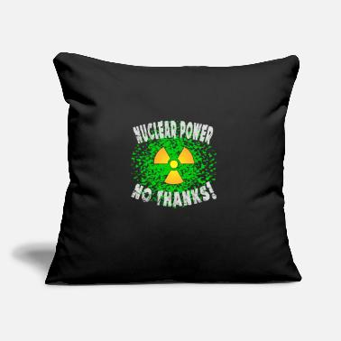 "Nuclear Power Nuclear power - Throw Pillow Cover 18"" x 18"""