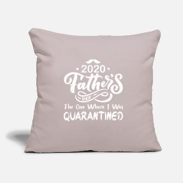 "Mask Father's Day 2020 The One Where I was Quarantined - Throw Pillow Cover 18"" x 18"""