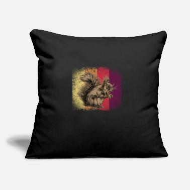 "Rodent Squirrel Animal - Throw Pillow Cover 18"" x 18"""