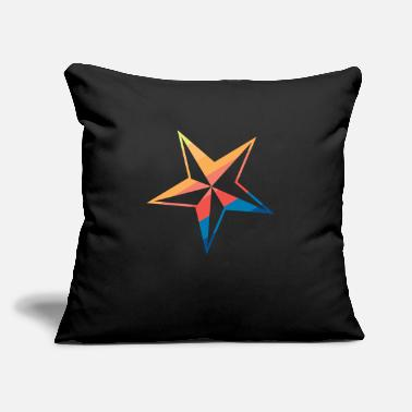 "Asterisk Stars - Throw Pillow Cover 18"" x 18"""