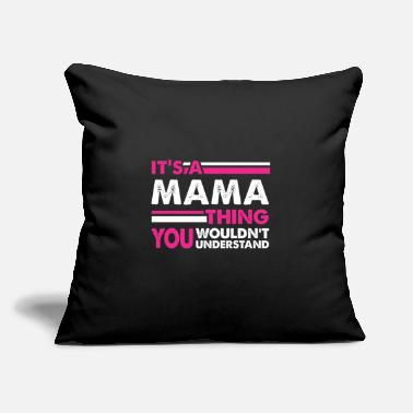"It's a Mama thing Mother's Day Gift - Throw Pillow Cover 18"" x 18"""