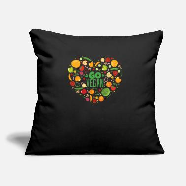 "Carbs Keto Diet Healthy Fitness Gift Idea - Throw Pillow Cover 18"" x 18"""