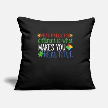 "Embracement World Autism Awareness Day Gift Autism Gift Idea - Throw Pillow Cover 18"" x 18"""