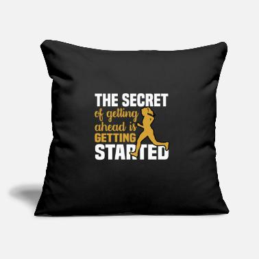 "Success Motivation and Success for Success - Throw Pillow Cover 18"" x 18"""
