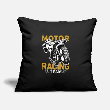 "Motor Race Motor Racing Team - Throw Pillow Cover 18"" x 18"""