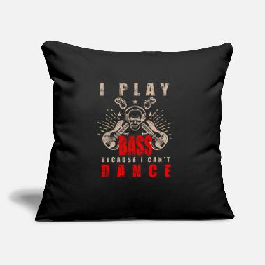 "Bass Player Bass Guitarist Bass Player Bass Player - Throw Pillow Cover 18"" x 18"""
