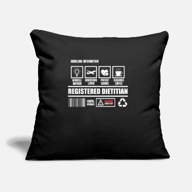 "Week Registered Dietitian RD Worker Nutritionist RDN - Throw Pillow Cover 18"" x 18"""