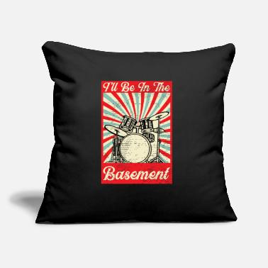 "Whatever The Tempo Is Whatever I Say It Is Drummer - Throw Pillow Cover 18"" x 18"""