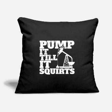 "Oil Oil workers - oil field - oil production - Throw Pillow Cover 18"" x 18"""