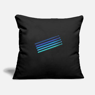"Drumsticks Drumsticks - Throw Pillow Cover 18"" x 18"""