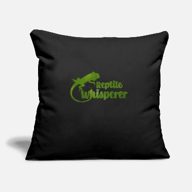 "Reptile Reptiles - Throw Pillow Cover 18"" x 18"""
