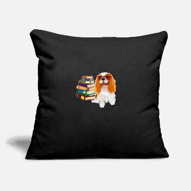 "Cavalier King Charles Spaniel Dad Cavalier King Charles Spaniel - Throw Pillow Cover 18"" x 18"""