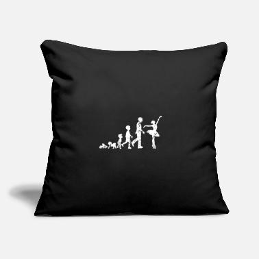 "Ballet Ballet evolution dance - Throw Pillow Cover 18"" x 18"""
