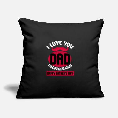 "Fathers Day Father's Day Gift Father's Day Saying Father's Day - Throw Pillow Cover 18"" x 18"""