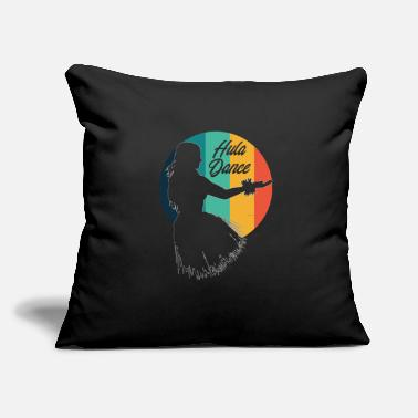 "Hula Dancer Hula Dancer Hula Dancing Hawaii - Throw Pillow Cover 18"" x 18"""