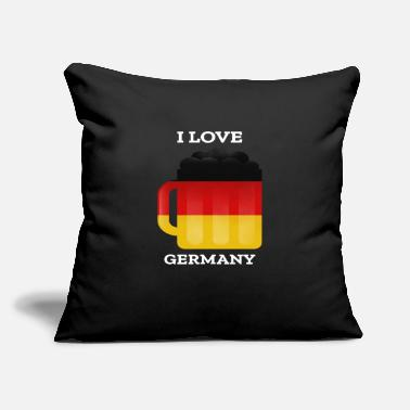 "Germany germany germanI Love Germany - Throw Pillow Cover 18"" x 18"""