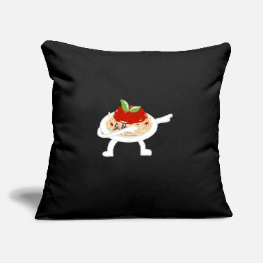 "Dish Dancing Steppes Rocking Beaten Dances Food - Throw Pillow Cover 18"" x 18"""