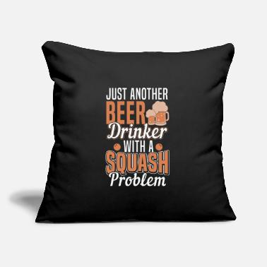 "Beer Drinkers Beer drinker - Throw Pillow Cover 18"" x 18"""