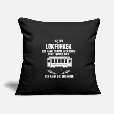 "Training Train Train - Throw Pillow Cover 18"" x 18"""