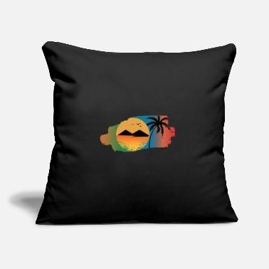 "Beach Holiday Beach - Throw Pillow Cover 18"" x 18"""