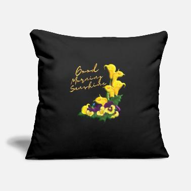 "good morning sunshine - Throw Pillow Cover 18"" x 18"""