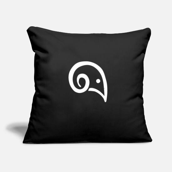 "Starry Sky Pillow Cases - aries star sign zodiac ram asterisk astrology - Throw Pillow Cover 18"" x 18"" black"