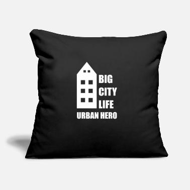 "City City - Throw Pillow Cover 18"" x 18"""