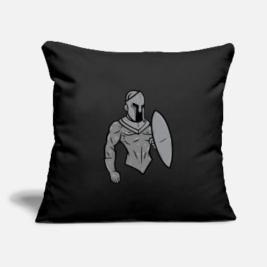 "Mascot Knights Mascot - Throw Pillow Cover 18"" x 18"""