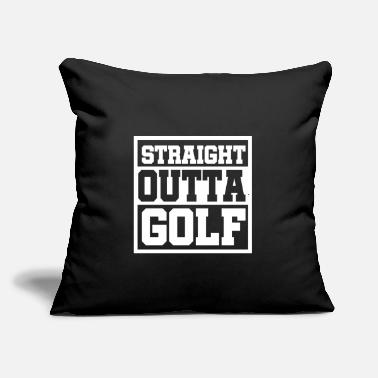 "Germany Straight outta Golf Gift car Germany Tee - Throw Pillow Cover 18"" x 18"""
