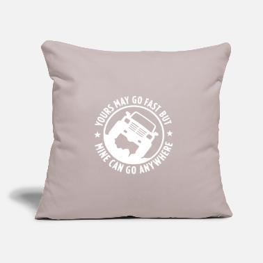 "Vehicle Offroad vehicles - Throw Pillow Cover 18"" x 18"""