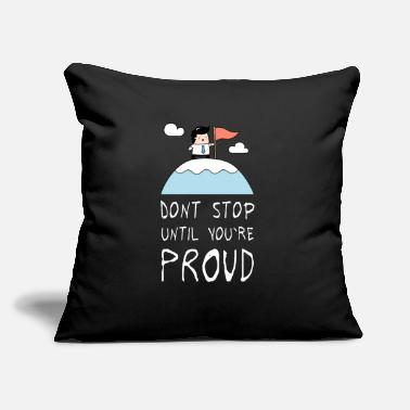 "Proud Be Proud - Throw Pillow Cover 18"" x 18"""