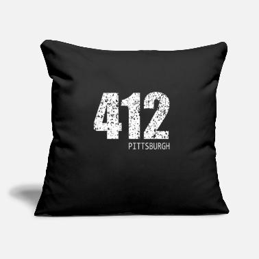 "Commonwealth Commonwealth of Pennsylvania telephone area code - Throw Pillow Cover 18"" x 18"""