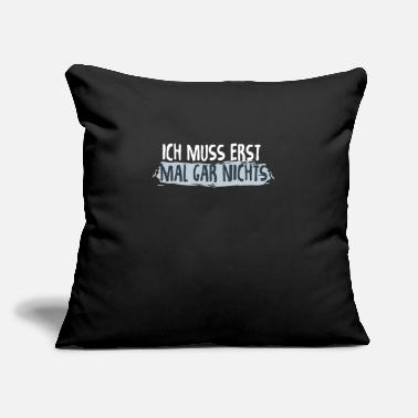 "Linguistics Foreign Language Sarcastic Sayings Funny Gift - Throw Pillow Cover 18"" x 18"""