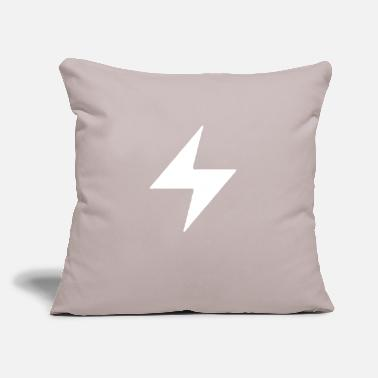 "Energetic Expression Attitude Energetic - Throw Pillow Cover 18"" x 18"""
