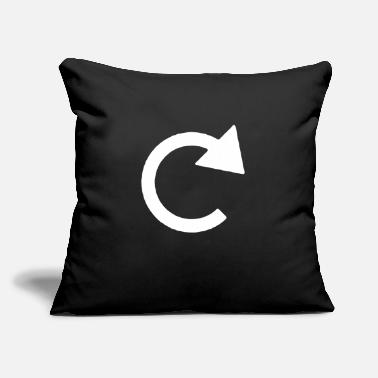 "Reminder Expression Attitude Reminded - Throw Pillow Cover 18"" x 18"""