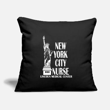 "Nurse Statue Healt - Throw Pillow Cover 18"" x 18"""