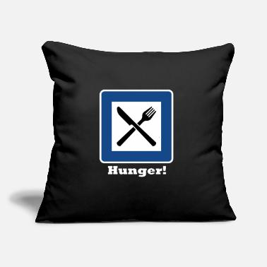 "Hunger Hunger! - Throw Pillow Cover 18"" x 18"""