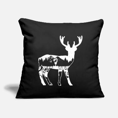 Scandinavia Scandinavia deer moose - Throw Pillow Cover