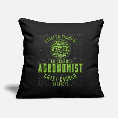 "Agronomy agronomist agronomy gift - Throw Pillow Cover 18"" x 18"""