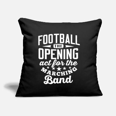 "Orches Marching Band Supporter Tshirt Football Marching - Throw Pillow Cover 18"" x 18"""