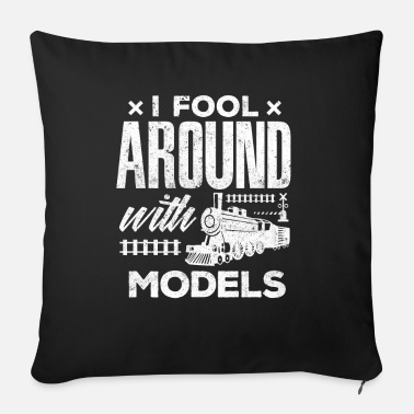 Train Lover Shirt I Fool Around With Models Gift Full Color Mug - black