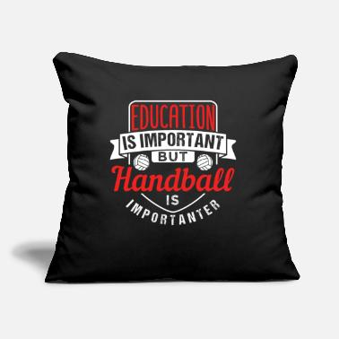 "Stylish Handball - Throw Pillow Cover 18"" x 18"""